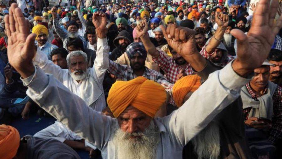 """Résultat de recherche d'images pour """"Mouvement de masse des agriculteurs indiens Images"""""""