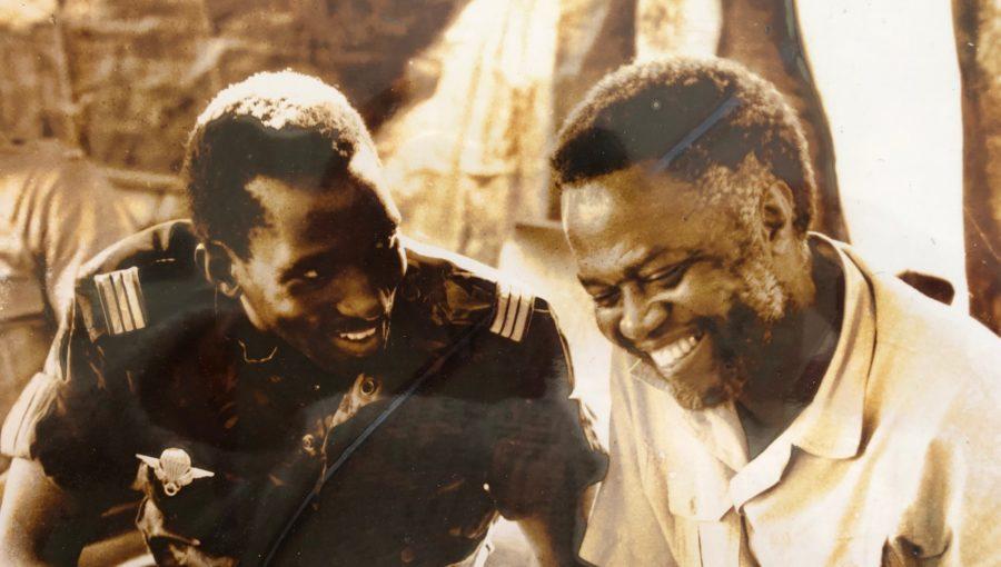 Thomas Sankara avec Kojo Tsikata,